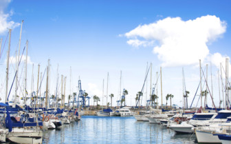 Boats in the Marina in Gran Canaria