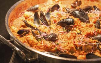 A Seafood Paella
