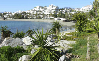 Puerto Banus Beach on the Spanish Coast