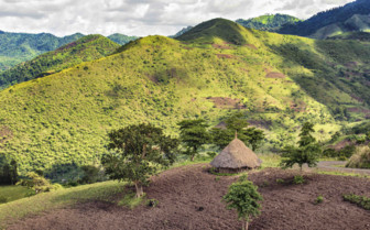 A View Over Hills in Southern Ethiopia