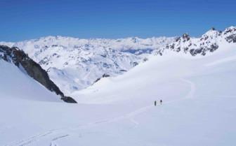 Pristine slopes