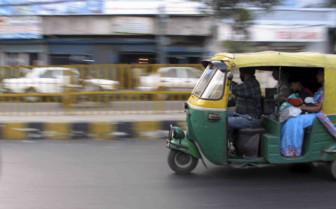 Tuk Tuk speeding along