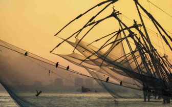 Dhow fishing boat
