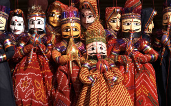 Colourful Indian Dolls
