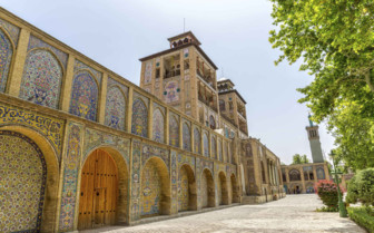 Exterior of the Golestan Palace