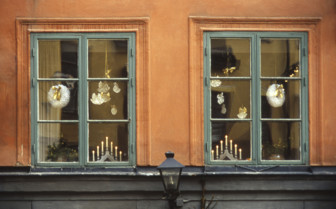 Decorations in a Window