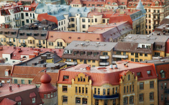 The Bright Rooftops of Gothenburg