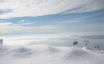Cable Cars to the Ski Slopes
