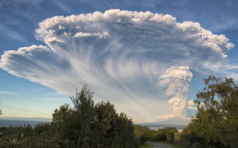 Calbuco Volcano in The Lake District