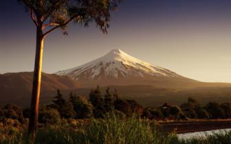 Osorno Volcano at Dusk