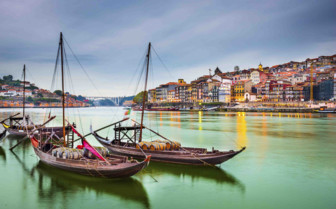 Boats in Porto