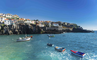 Boats in the Sea at Madeira