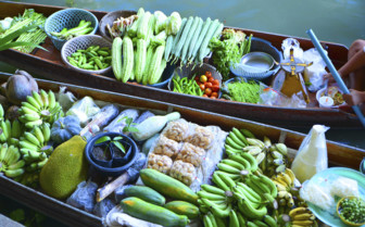 Fresh Food on the Floating Market