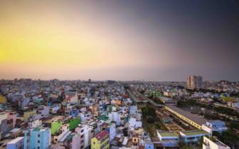 Sun Rising over Ho Chi Minh