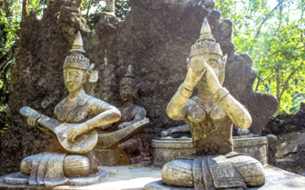 Magic Garden Statues - Koh Samui