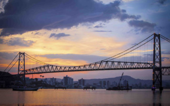 Bridge of Florianopolis