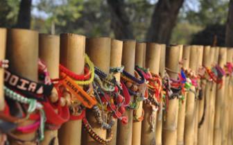Friendship Bracelets at Choeung Ek