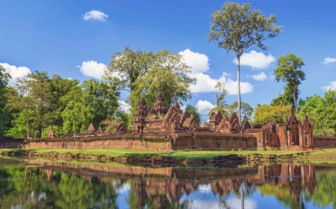 Reflections at Banteay Srei