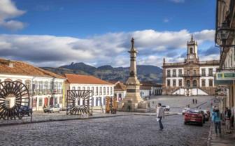 Ouro Preto Cobbled Street