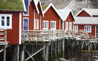Rorbu Fishing Huts - Reine