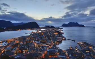 Night at Alesund