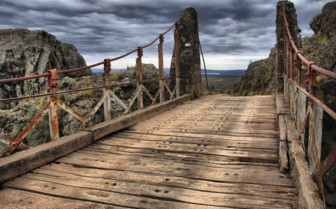 Bridge in Argentina