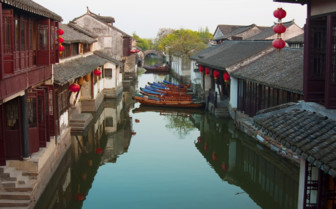 River with Boats - Zhouzhuang