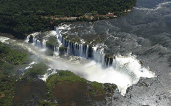 Aerial of Falls