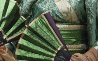 Green Kimono Japan