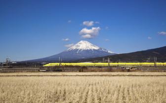 Bullet Train Mount Fuji