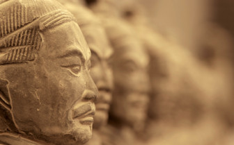 Terracotta Soldier in Profile