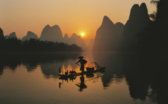 Fisherman on the Water