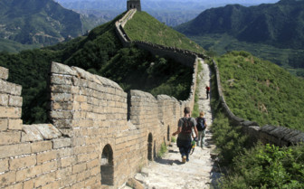 Wandering along the Great Wall