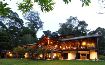 Borneo Rainforest Lodge Exterior