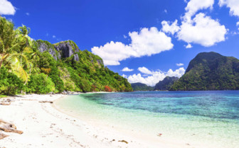 White Sand Beach in the Philippines