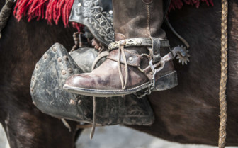 A Gaucho's Boot and Spurs
