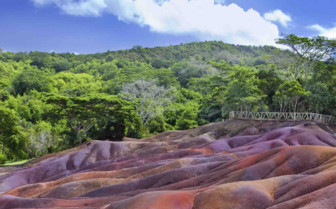 Colourful Sands Landscape