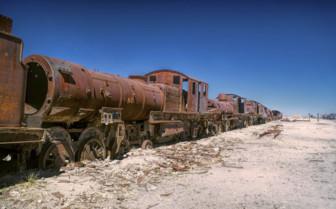 Locomotive Graveyard - Uyuni