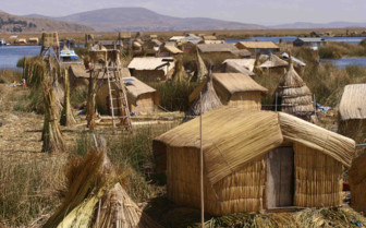 Floating Islands of Uros Tribe