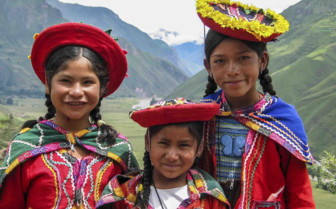 Three Peruvian Girls