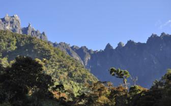 Craggy Peaks in Borneo