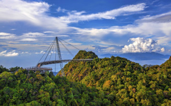 Viewpoint Amidst the Treetops in Langkawi
