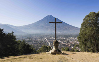 Panoramic View across Antigua Guatemala