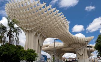 Seville's Metropol Parasol Structure