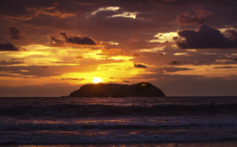 Manuel Antonio National Park sunset