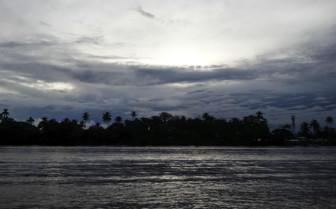 Tortuguero at dusk