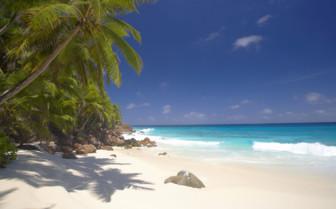 Beautiful beach, Seychelles
