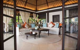 Villa lounge, Fregate Island