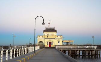Pier in St Kilda, Melbourne