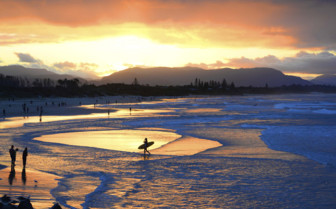 Sunset at Byron Bay